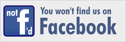 You wont find me on Facebook