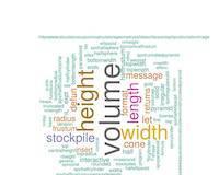 Emacs Lisp: stockpile.el calculates volumes of stockpiles, heaps, piles, mounds