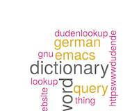 Emacs Lisp: duden-lookup opens up https://www.duden.de German dictionary to lookup definitions